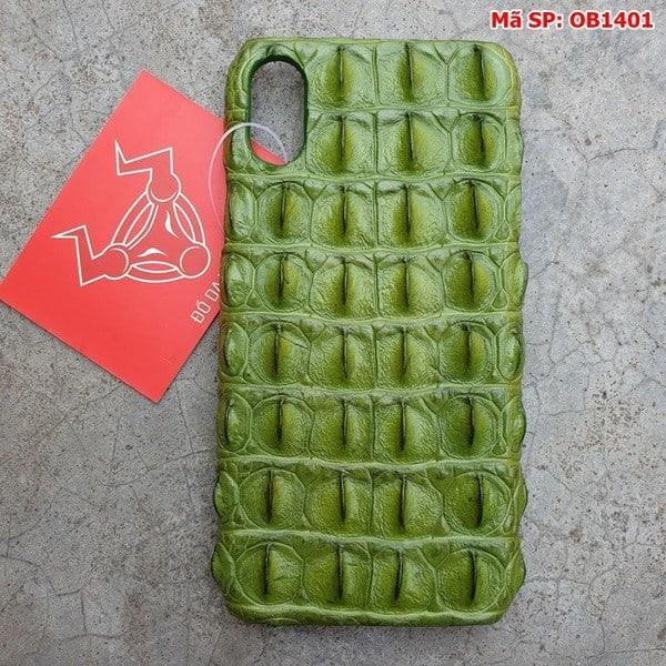 Tuidacasau Ốp Lưng Da Cá Sấu Màu Đỏ Iphone 11 OD0808 (1)