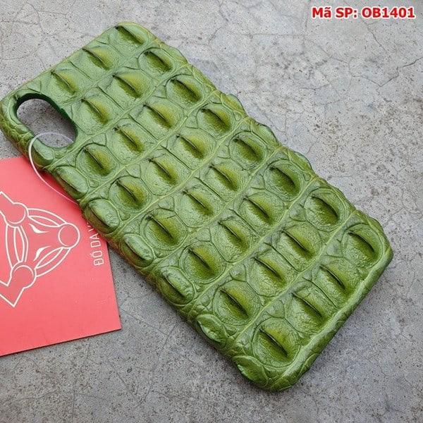 Tuidacasau Ốp Lưng Da Cá Sấu Màu Đỏ Iphone 11 OD0808 (2)