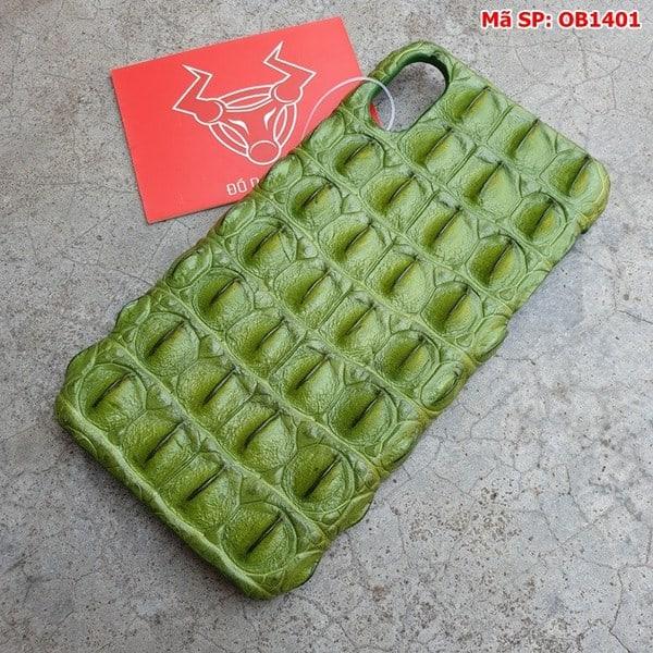 Tuidacasau Ốp Lưng Da Cá Sấu Màu Đỏ Iphone 11 OD0808 (3)