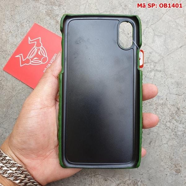 Tuidacasau Ốp Lưng Da Cá Sấu Màu Đỏ Iphone 11 OD0808 (6)
