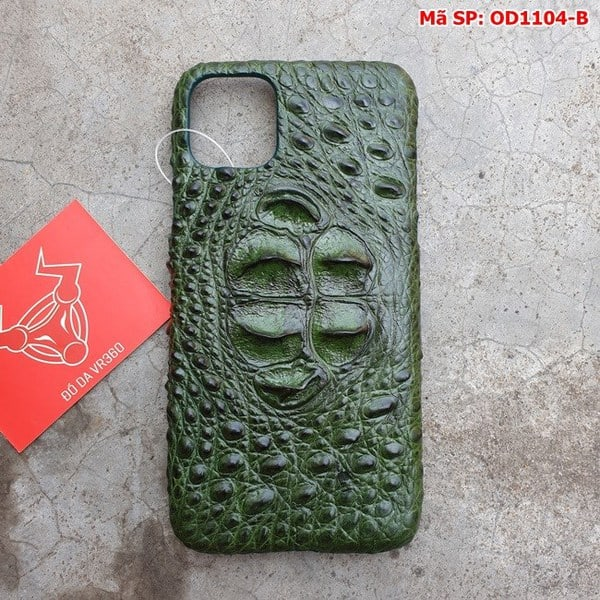 Tuidacasau Op Lung Ca Sau Iphone11 Promax Gu Xanh La OD1104 B (1)