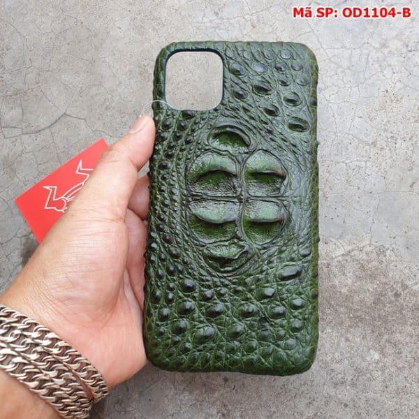 Tuidacasau Op Lung Ca Sau Iphone11 Promax Gu Xanh La OD1104 B (3)