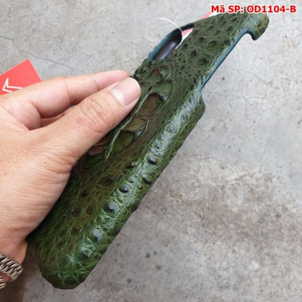 Tuidacasau Op Lung Ca Sau Iphone11 Promax Gu Xanh La OD1104 B (5)