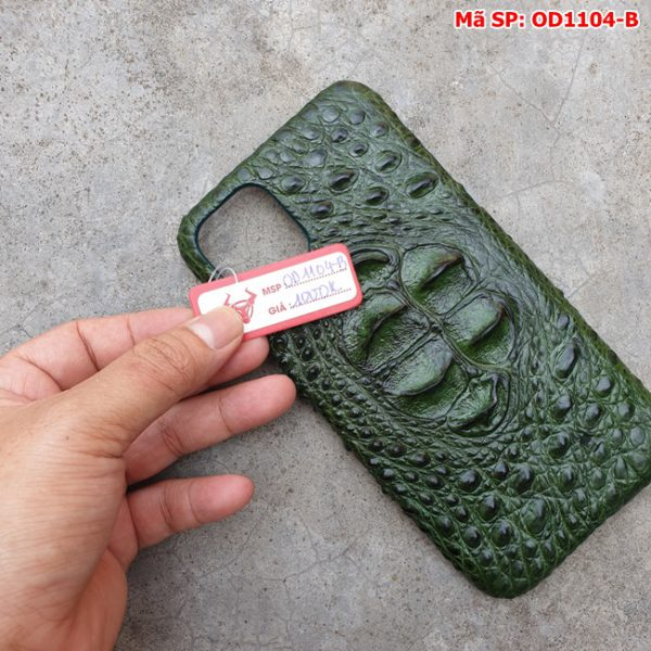 Tuidacasau Op Lung Ca Sau Iphone11 Promax Gu Xanh La OD1104 B (6)