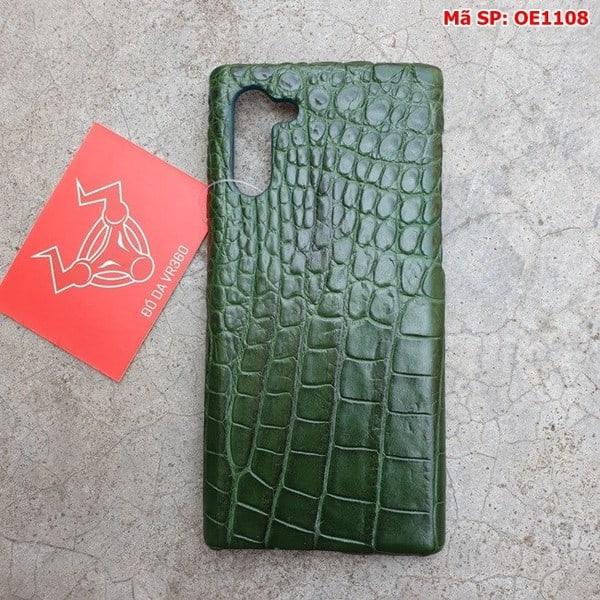 Tuidacasau Op Lung Ca Sau Samsung Note 10 Tron Xanh La OE1108 (1)