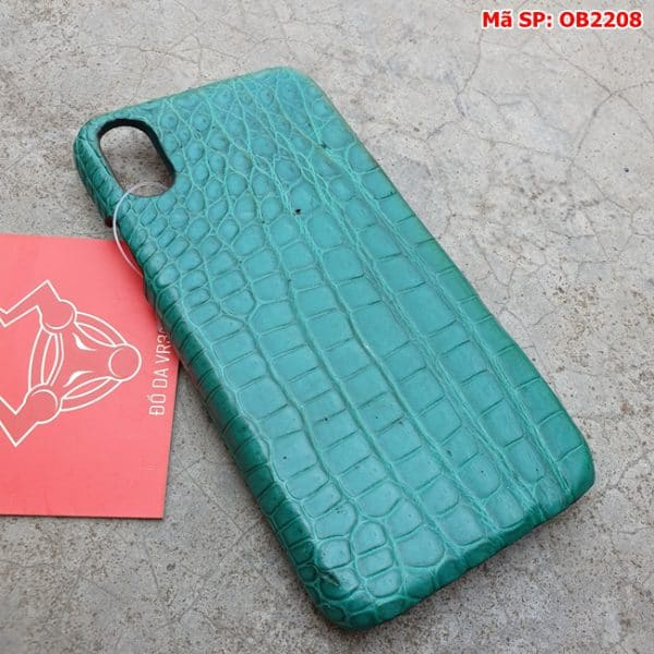 Tuidacasau Op Lung Ca Sau That Iphone 10 Tron Xanh Vechai OB2208 (2)