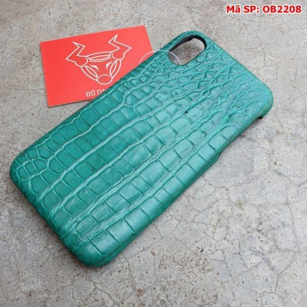 Tuidacasau Op Lung Ca Sau That Iphone 10 Tron Xanh Vechai OB2208 (3)