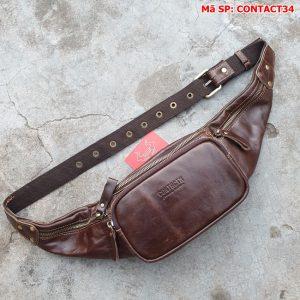 Túi Đeo Bụng Nam Cao Cấp Contact34