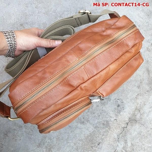 Túi Đeo Chéo Da Bò Thật Contact14-CG (8)