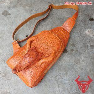 Túi Đeo Chéo Nguyên Đầu Cá Sấu Độc Lạ TF0610-2X