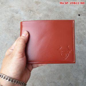 Ví Nam Da Bò Vr360 Giá Rẻ VDB22-NĐ