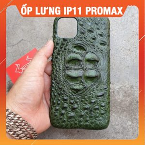 Ốp Lưng Cá Sấu Iphone 11 promax Gù