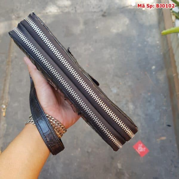 Clutch Cam Tay Nam Da Ca Sau 2 Khoa Den Gai Duoi Bj0102 4