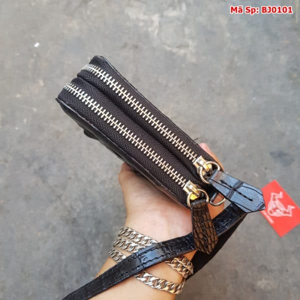 Clutch Nam Da Ca Sau That Bj0101 Den Gai Lung 6