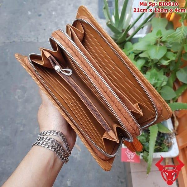 Vi Cam Tay Nam Da Ca Sau Vang Bo BI0610 8
