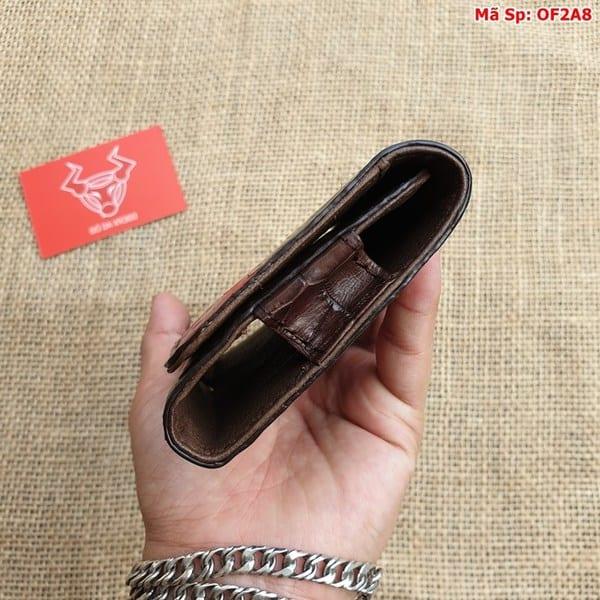 Bao Da Dien Thoai Deo That Lung Nau Den Of2a8 9