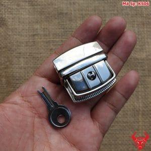 DIY Khóa Sập Màu Inox KS06 35mm