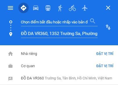 Maps Chi Duong Di Den Do Da Vr360