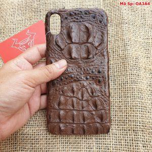Ốp Lưng Da Cá Sấu Iphone XS Max OA3A4