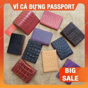 Ví Cá Sấu Đựng Passport Sale