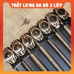 Thắt Lưng Nam Da Bò 3 Lớp TLRN10