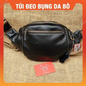 Túi Da Bò Đeo Bụng – Ngang Hông Cao Cấp TĐB16