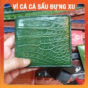 Bóp Da Cá Sấu Đựng Đồng Xu