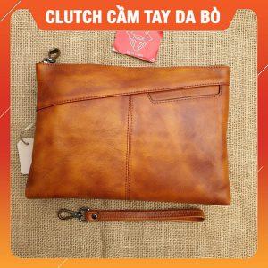 Clutch Cầm Tay Da Bò Cao Cấp CL25-A