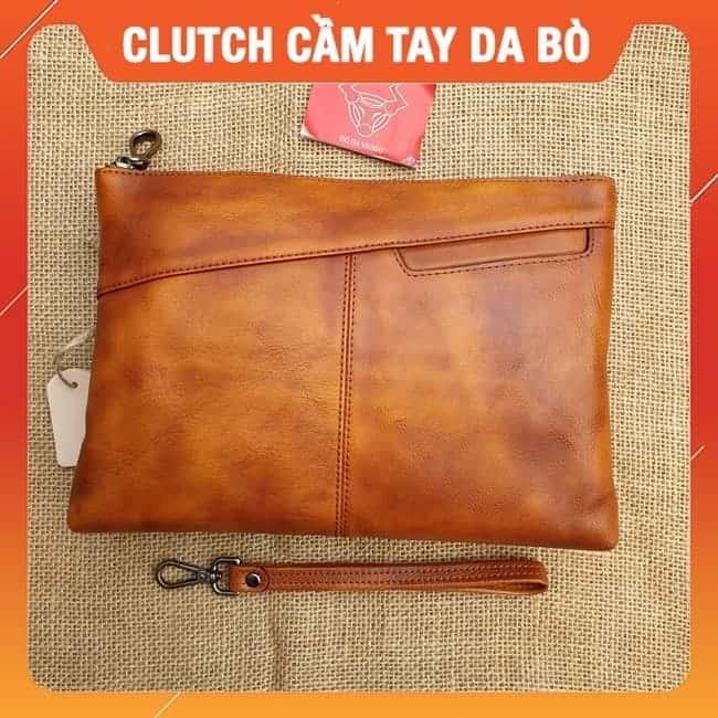 Clutch Cam Tay Da Bo Cao Cap Cl25 A 1