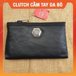 Ví Cầm Tay Da Bò Nam 2020 CL21