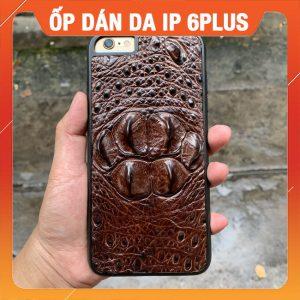 Ốp Lưng Cá Sấu iPhone 6plus Gù Dán Da EAA4