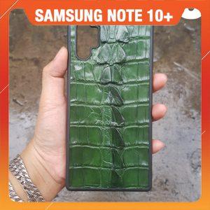 Ốp Lưng Da Cá Sấu Samsung Note 10 Plus