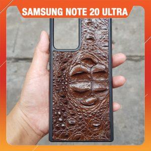 Ốp Lưng Dán Da Cá Sấu Samsung Note 20 Ultra