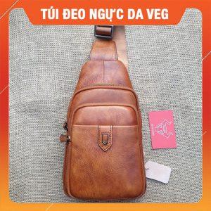 Túi Đeo Ngực Da Bò VEG B20