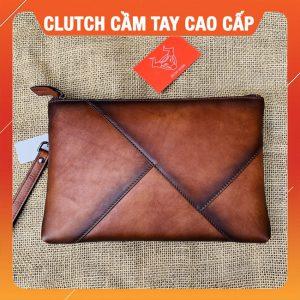 Clutch Cầm Tay Da Bò CL32