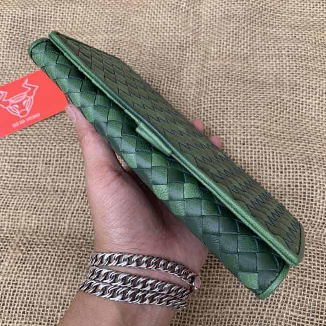 Clutch Da Cam Tay Nam Da Bo Cao Cap Vict12 3