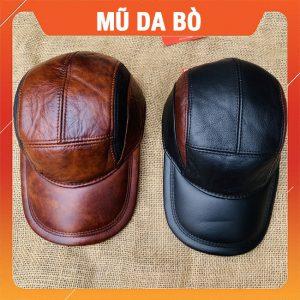 Mũ Da Bò Thật Cao Cấp MDB13
