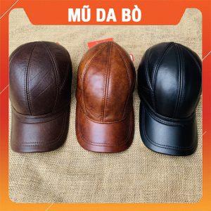 Mũ Lưỡi Trai Da Bò MDB14