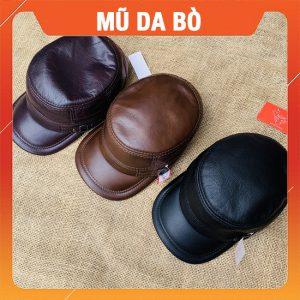 Mũ Lưỡi Trai Nam Da Bò MDB08