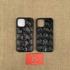 Ốp Dán Da Cá Sấu iPhone 12 Promax