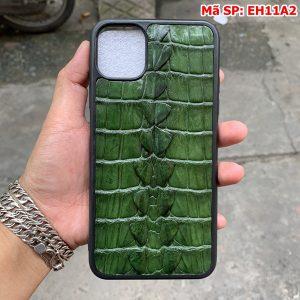 Ốp Lưng Da Cá Sấu Iphone 11 Promax Gai Đuôi