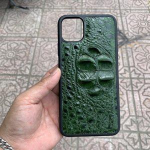 Ốp Lưng iPhone 11 Pro Dán Da Cá Sấu