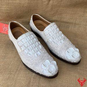 Giày Tây Cá Sấu Bạch Tạng Cao Cấp GB21A4