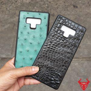 Ốp Lưng Dán Da Cá Sấu Đà Điểu Samsung Note 9