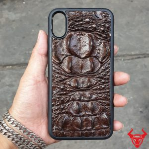 Ốp Lưng Iphone X Da Cá Sấu 8 Gù