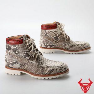 Giày Boot Nam Da Trăn Cao Cấp