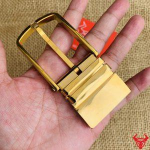 Khoá Thắt Lưng Thép 3.5cm Mạ Vàng K80