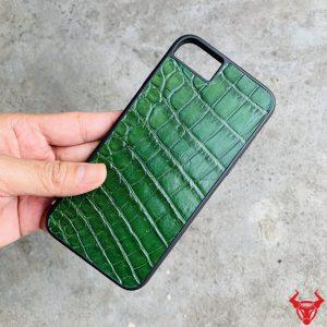 Ốp Lưng Dán Da Cá Sấu Iphone 7 plus 8 Plus