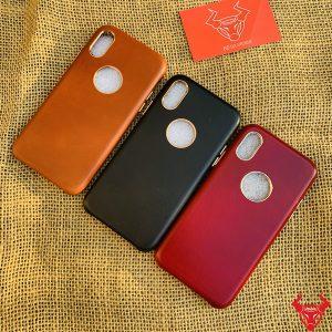 Ốp Lưng Da Bò Iphone X Và Xs Cao Cấp OBA19